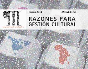 Photo: Aprovechamos el primer número de Razones Para #GestiónCultural del año para contribuir a la demanda y el deseo de buenos propósitos en gestión cultural. Estamos seguros de suscitará encontradas y variadas opiniones, como las que generó en la muy recomendable cita semanal #Cultura18.  Además, hablamos de #Pública14 y hacemos un recorrido por alguno de los #espaciosculturales más visitados en España, entre los que se encuentra el Museo Picasso Málaga. Esto y mucho más en nuestra #ActualidadCultural  http://www.mastergestioncultural.eu/actualidad_ficha.php?id=5644&pag=1&cbus