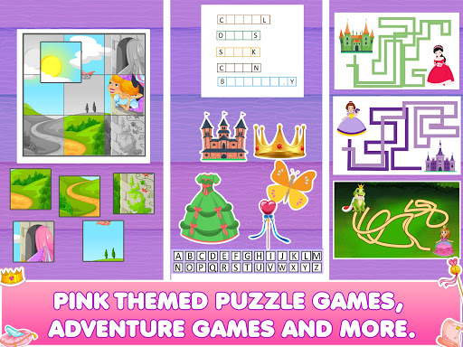 Princess Doll House Cleanup & Decoration Games screenshots 9