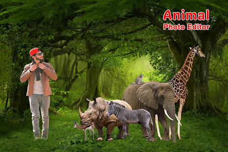 Download Wild Animal Photo Editor For PC Windows and Mac apk screenshot 5