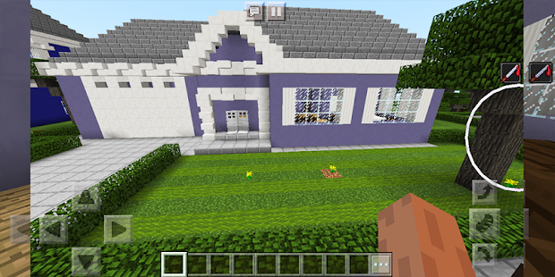 School and Neighborhood. Map for MCPE - náhled