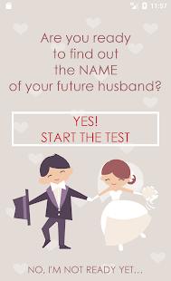 TEST your Husband / Boyfriend NAME - náhled