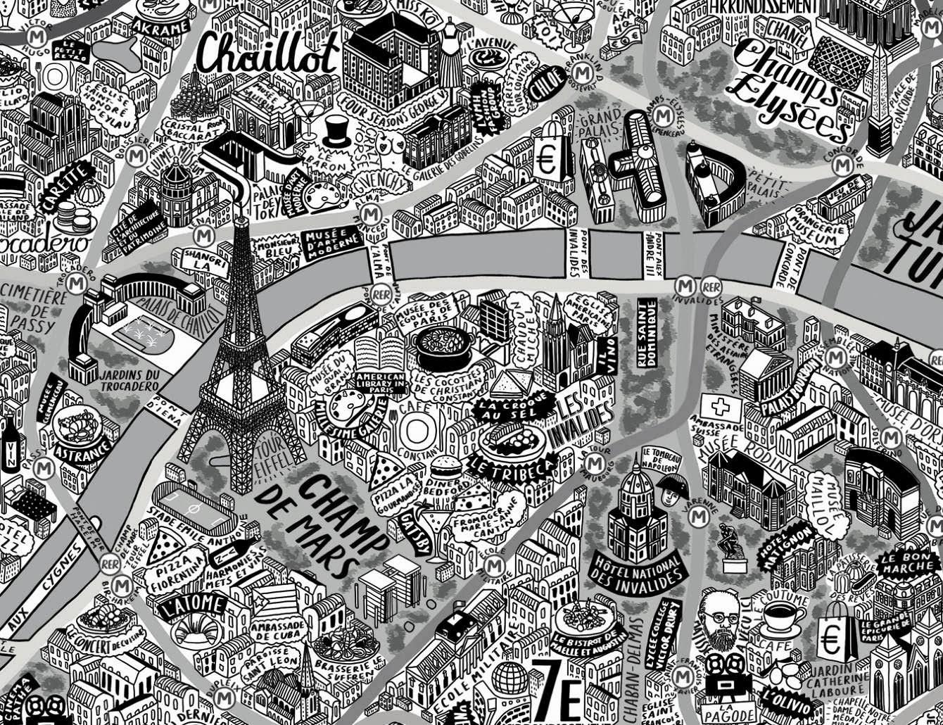 Jenni Sparks'ın Paris Haritası