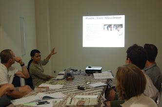 Photo: Kelas diskusi kelas Advanced