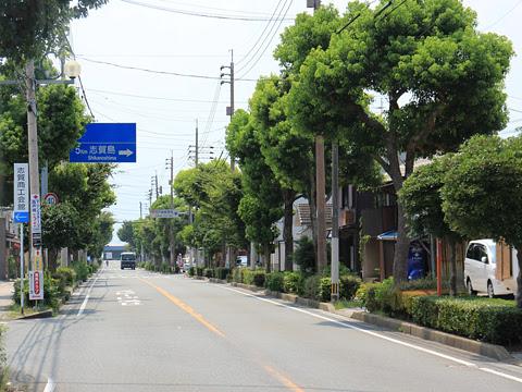 西鉄バス宗像「志賀島ぐりーん」 5718 車窓 その1