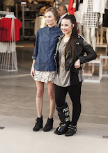 Photo: Kate Bosworth and Demi Lovato at the opening.  Shop LA Style > http://bit.ly/XbGtM6