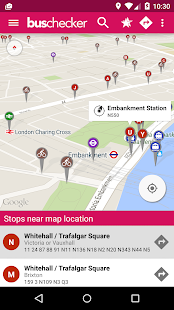 London Bus Checker Live Times Screenshot 2