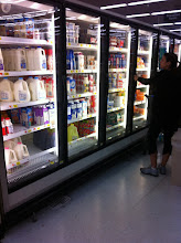 Photo: There was an employee there stocking the shelves, so I asked her where the iced coffee was?