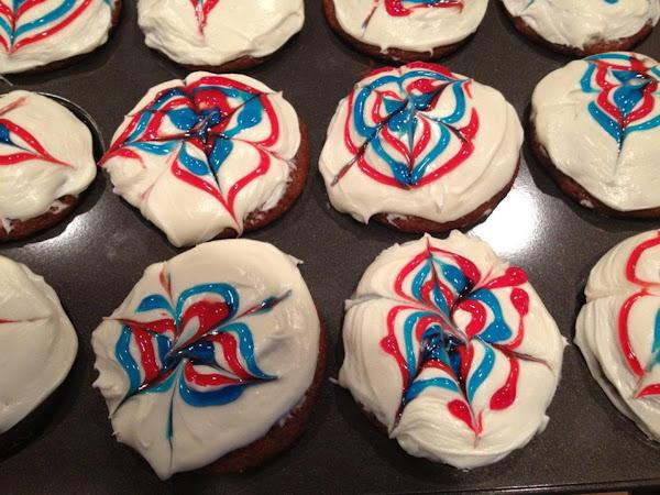 Jody's 4th Of July Cupcakes Recipe