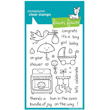 Lawn Fawn Clear Stamps 4X6 - Plus One