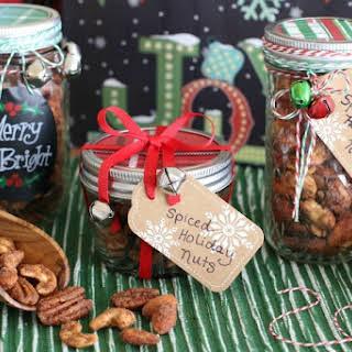 Spiced Holiday Nuts (GF, DF).