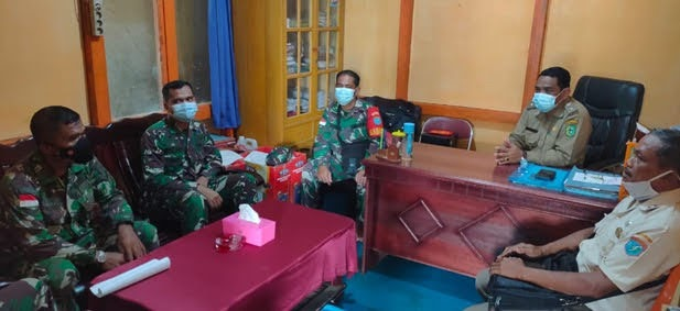 Pensertifikatan Aset Tanah Milik TNI AD di Bengkayang : Zidam XII/Tpr koordinasi Dengan Kades Lembang Sanggau Ledo