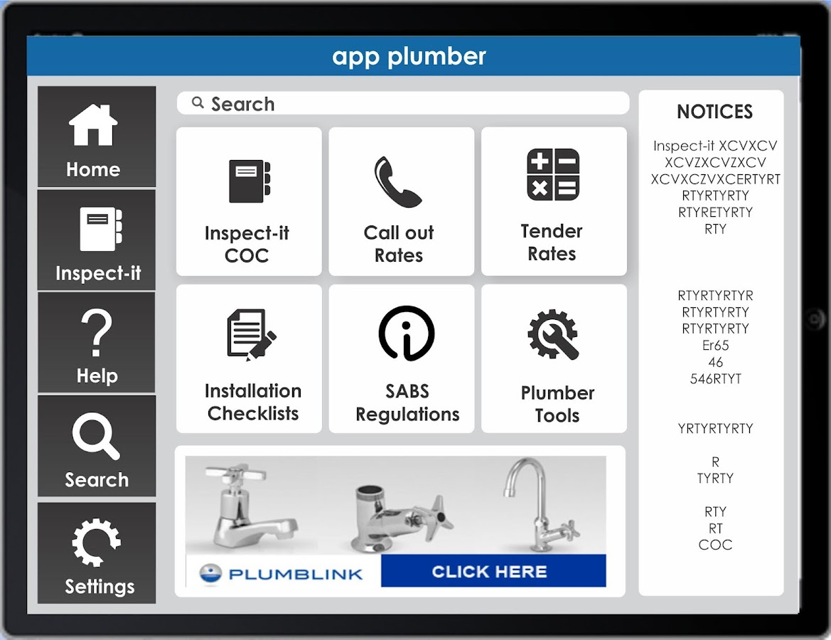 APP PLUMBER- screenshot