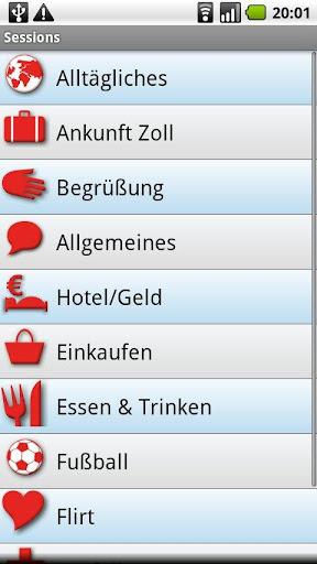iSayHello German - French free 3.1.1 screenshots 2
