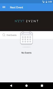 Next Event 2017 - náhled