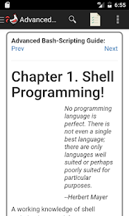 Advanced Bash Scripting Guide - náhled