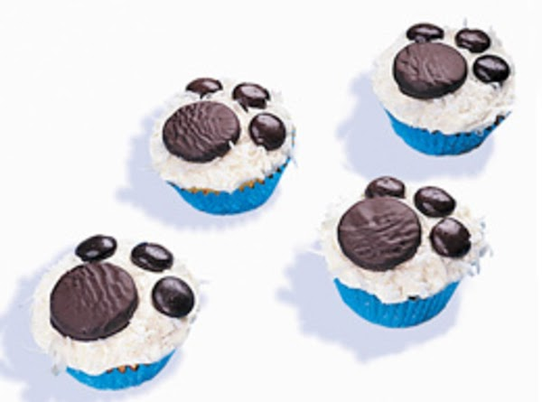 Paw Print Cupcakes Recipe