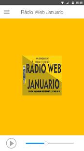 Rádio Web Januario - náhled
