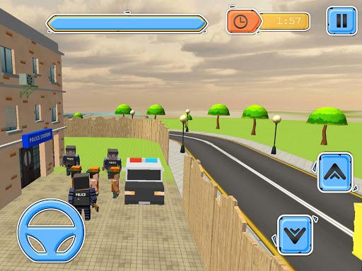 Blocky Vegas Crime Simulator:Prisoner Survival Bus image   15