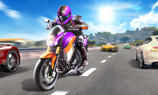 Moto Racing 3D  captures d'écran 1