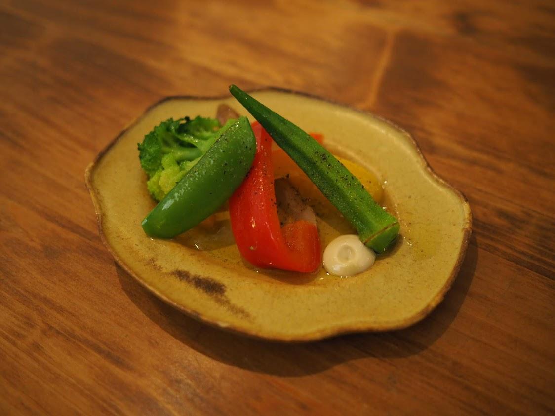 温野菜のディップ