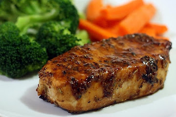 Dijon Honey Pork Chops