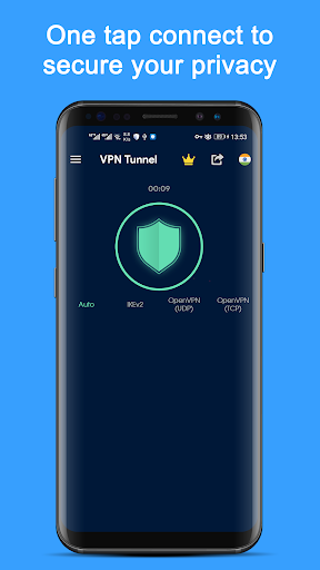 Free VPN Master - Fast Unlimited VPN Tunnel App screenshot 1