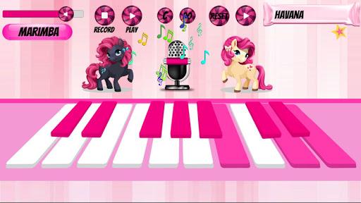 Girl Piano : Pink Piano android2mod screenshots 6