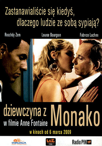 Przód ulotki filmu 'Dziewczyna Z Monako'