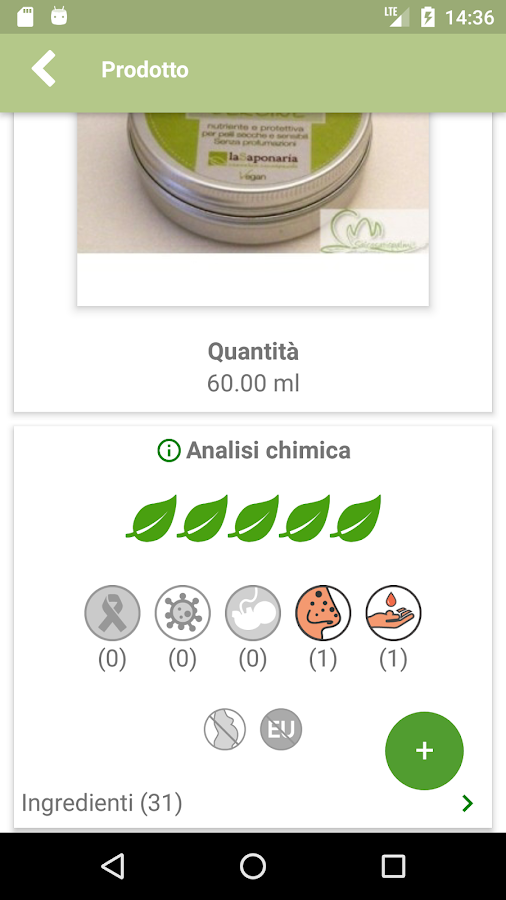 Biotiful - INCI e Recensioni Cosmetici- screenshot