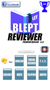 Premium BLEPT Reviewer - náhled