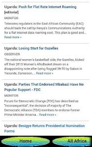UGANDA NEWS ONLINE screenshot 0