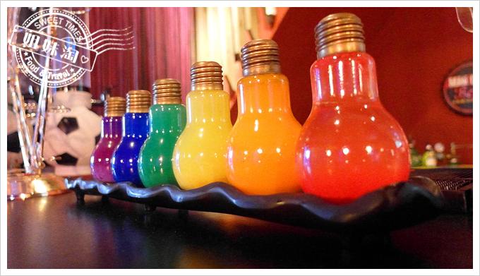 麥瑟德式手工啤酒餐廳七彩燈泡