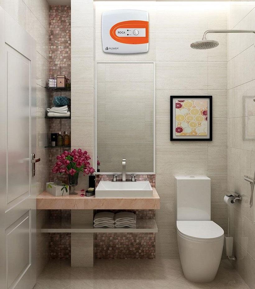 Bình nóng lạnh mini thương hiệu Olympic cam kết đem đến nguồn nước nóng đảm bảo an toàn chất lượng