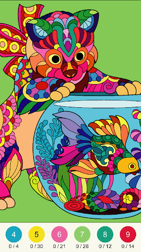Wonder Color - Color by Number Free Coloring Book screenshots 12
