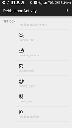 Enter The Timeline for Pebble