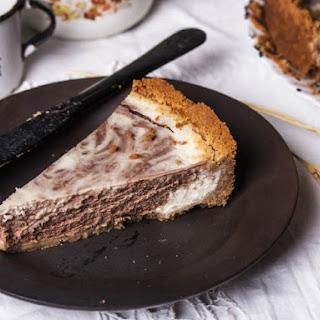 Vanilla Fudge Cheesecake.