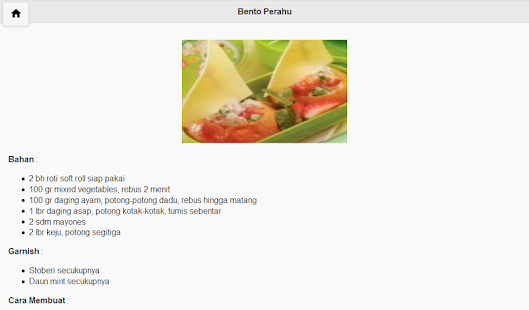 Bekal Makanan Anak screenshot