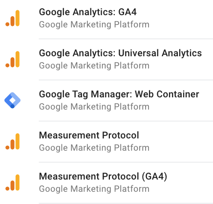 Google provides a few server-side tagging Clients that are ready to use out-of-the-box.
