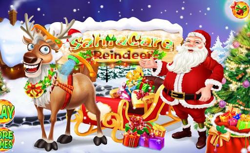 聖誕老人護理馴鹿