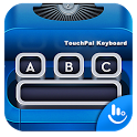Blue Typewriter Keyboard Theme icon