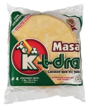 masa k-t-dra para pastelitos n4 1kg