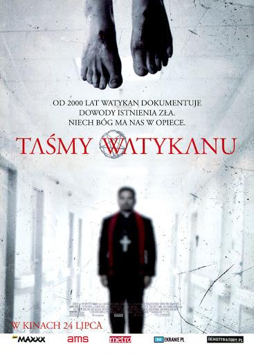 Przód ulotki filmu 'Taśmy Watykanu'