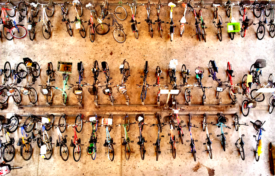 bicycles park by Kent Tan - Instagram & Mobile Android