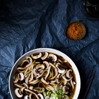 Mushroom Udon.
