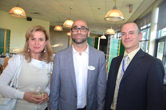 Photo: Randa Khartabil, Georges Maamari, Shawn Carr (Guest Speaker)