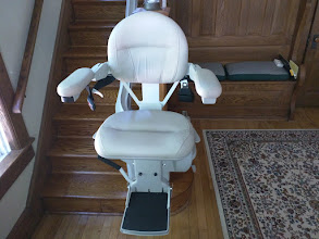 Photo: New Jersey Curved Stairlifts