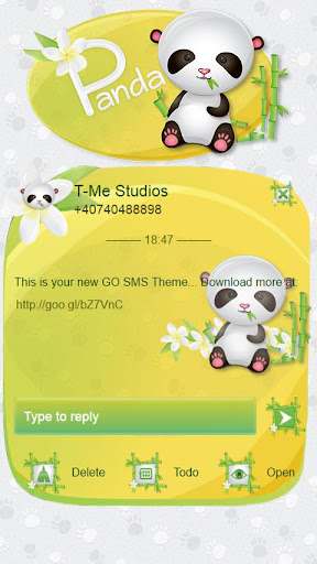 Panda GO SMS
