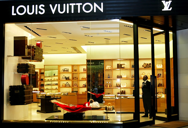 The Louis Vuitton shop in Sandton City, Johannesburg. Picture: SUNDAY TIMES