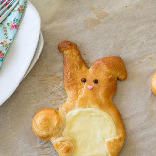 Easter Bunny Cream Cheese Danish.