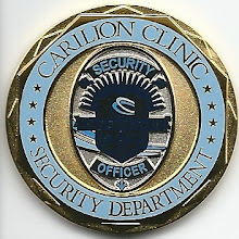 Photo: Carilion Clinic Police & Security, Challenge Coin (Reverse)